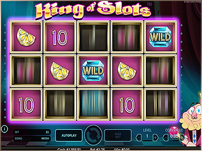 Jouer sur la machine à sous Netent King of Slots